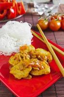 almoço chinês foto
