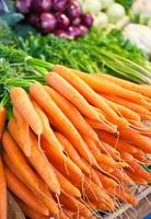 mercado de vegetais foto