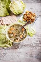 sopa de salada foto