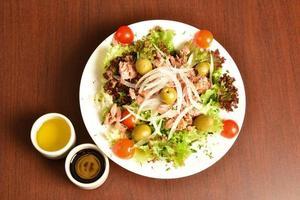 salada de atum. foto