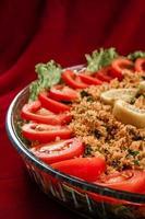 kisir, aperitivo turco tradicional