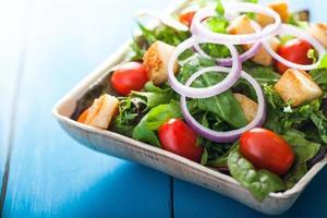 salada de jardim closeup 1 foto
