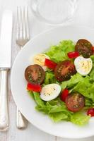 salada no prato foto