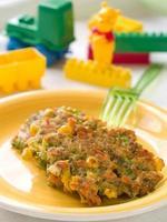 panqueca de legumes foto