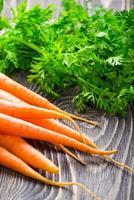 cenoura orgânica fresca foto