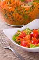 salada de vegetais. foto