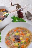 krupnik - € - sopa polonesa de cevadinha