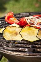 legumes grelhados foto