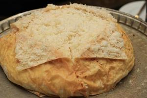 arroz na massa. foto