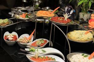 pratos de aperitivo foto