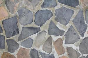 rocha texturizada foto
