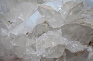 pedra de cristal foto