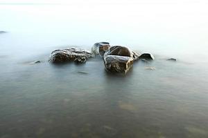 balança a beira-mar foto