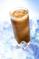 smoothie de café com gelo foto