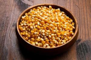 semente de milho cru foto