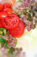 salada de legumes foto