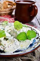 salada de pepino foto