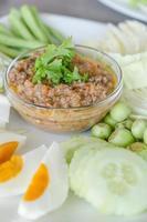 pasta de pimentão asiático foto