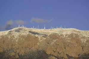 comunicações montanha paisagem inverno foto