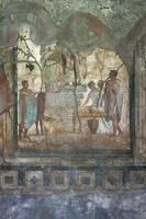 afresco de pompeia, nápoles (itália) foto