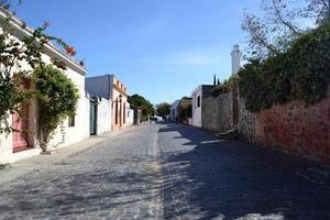 rua colonia del sacramento foto