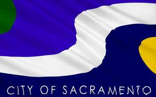 bandeira do estado de sacramento