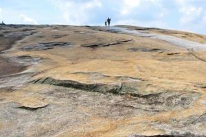 a superfície da montanha de pedra. Atlanta, Geórgia