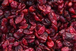 mirtilos, cranberries, mirtilos, secos, foto