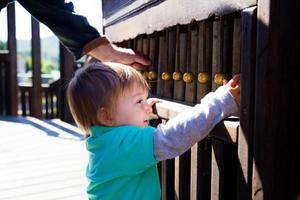 instrumento musical para parque infantil foto