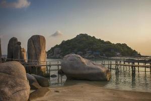 ilha koh nang yuan, surat, tailândia foto