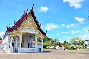 wat phra borommathat chaiya templo em chaiya surat thani foto