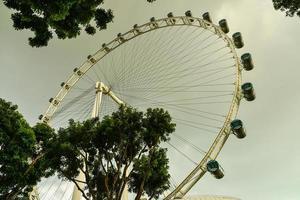 o panfleto de cingapura foto