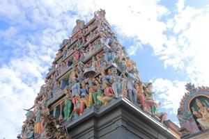 templo sri mariamman cingapura foto