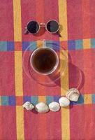 café e verão foto