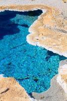 parque nacional de yellowstone, primavera estrela azul, wyoming