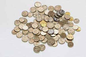 moeda de cingapura foto