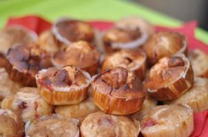 muffins de geléia foto