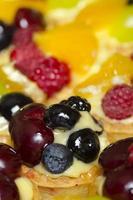 tortas de frutas foto