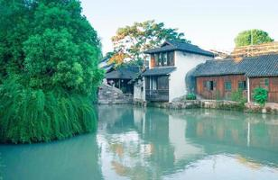 cenário de wuzhen na china foto