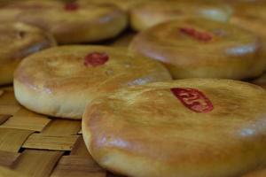 pastelaria chinesa foto