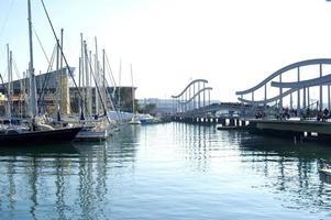 porto de barcelona foto
