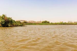 Rio Nilo em Cartum foto