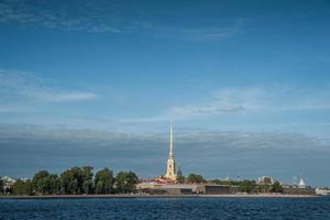 Fortaleza de Pedro e Paulo em São Petersburgo foto