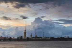 Fortaleza de Pedro e Paulo. st. Petersburgo. Rússia. foto