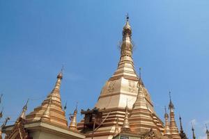 pagode sule em yangon, burma (myanmar) foto
