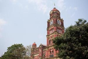 Yangon (rangoon) edifício do britânico foto