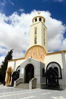 catedral de saint menas, egito foto