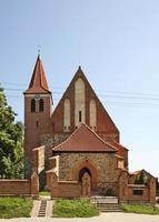 igreja de st. Catarina de Alexandria, em Grzywna. Polônia foto