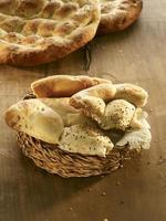 pão pita turco especial para o ramadã foto