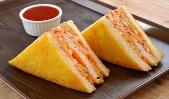 sanduíche de clube-8 foto